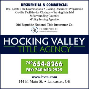 Hocking Valley Title Agency ad
