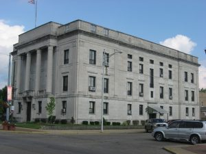 Hocking County Common Please Courthouse