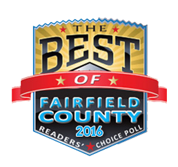 Best of Fairfield County, 2016, badge