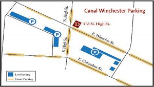 Canal Winchester Parking Map